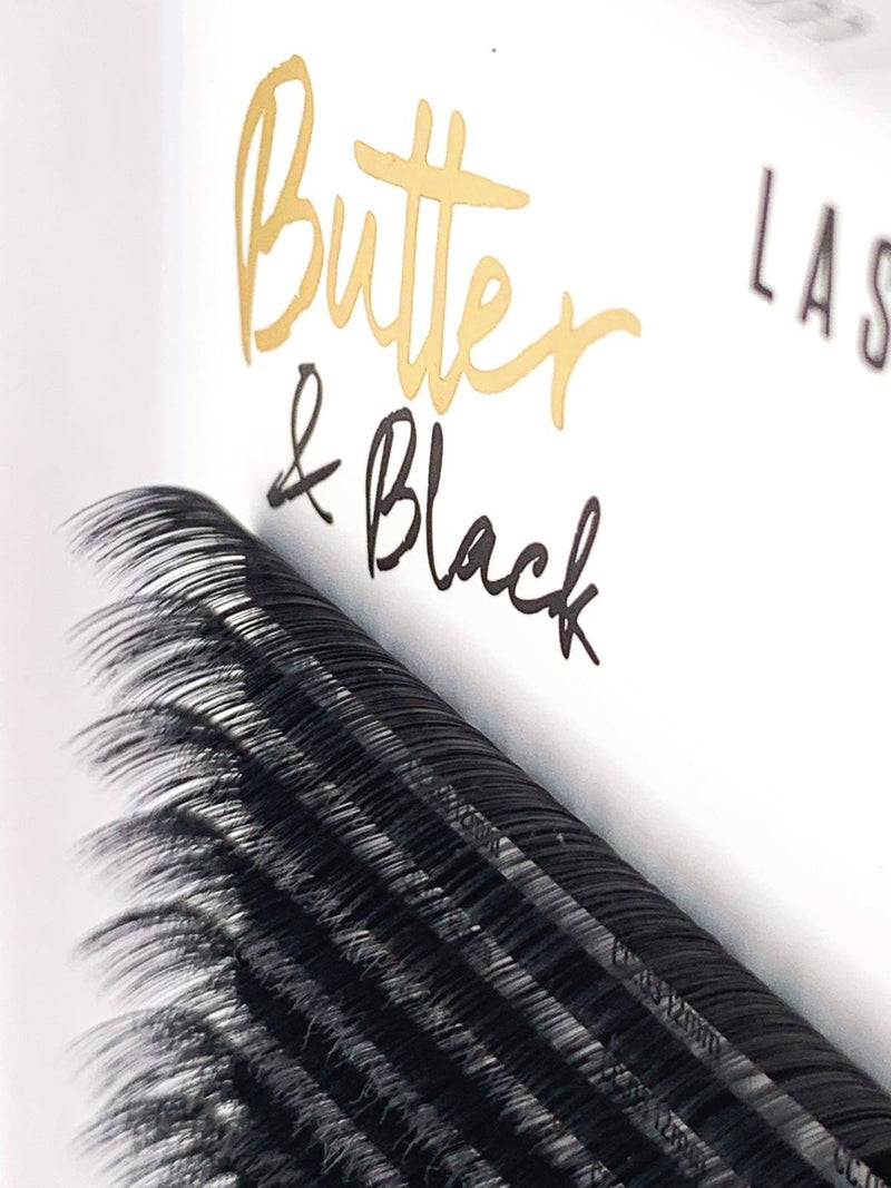 BUTTER & BLACK CC CURL - SINGLE LENGTH