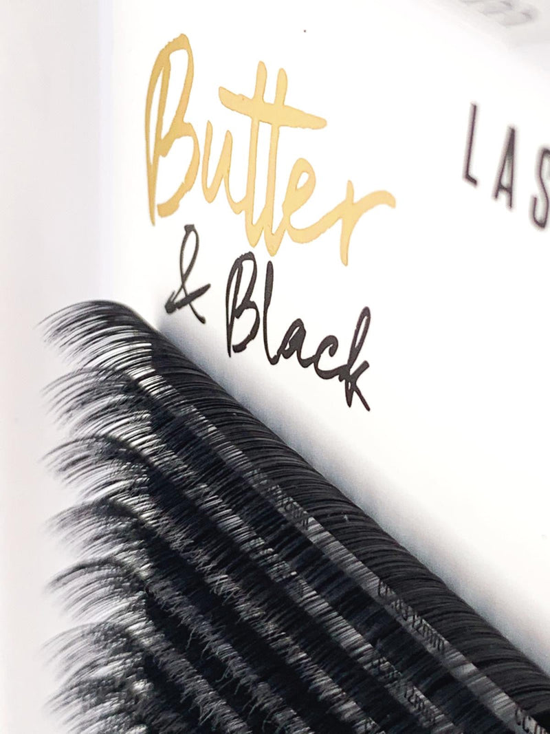 Butter & Black Mixed Length Lashes