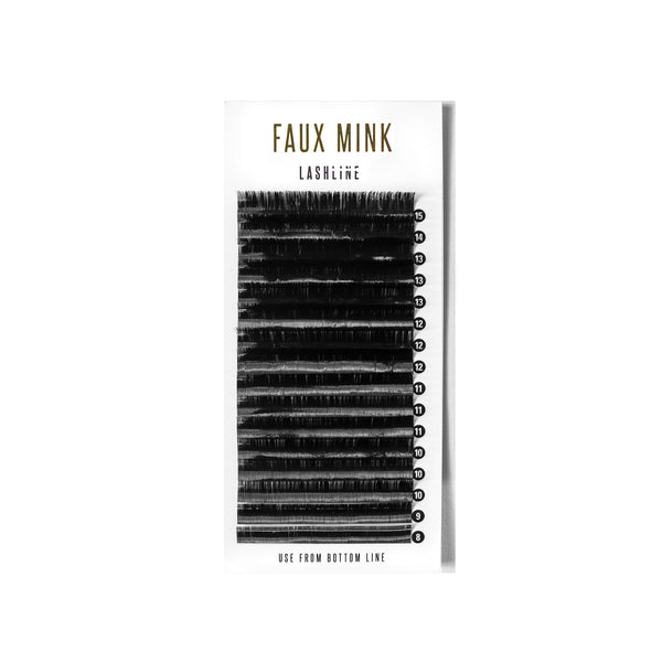 FAUX MINK SINGLE LENGTH - D CURL