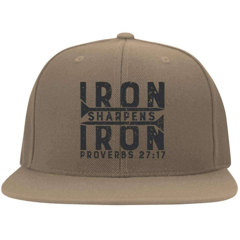 Hats - Iron Sharpens Iron Flat Bill Twill Flexfit Cap