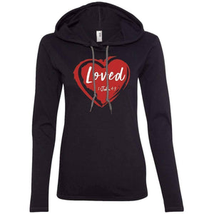 Loved Women's Christian Fitted T-Shirt Hoodie