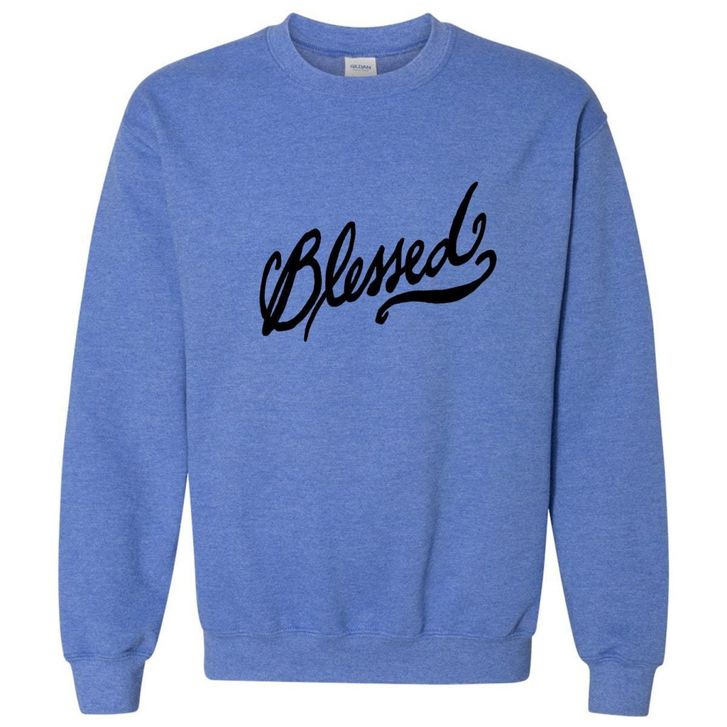 Sweatshirts - Blessed Christian Crewneck Unisex Sweatshirt
