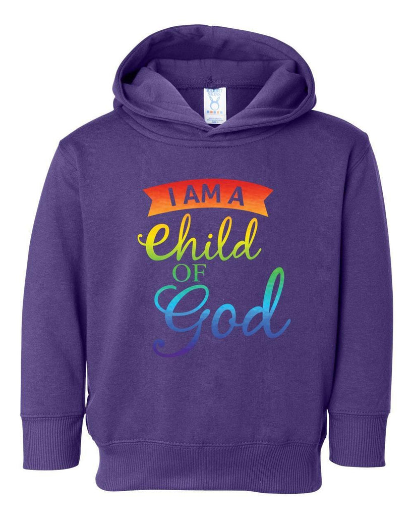 Sweatshirts - Child Of God Toddler Christian Sweatshirt Hoodie