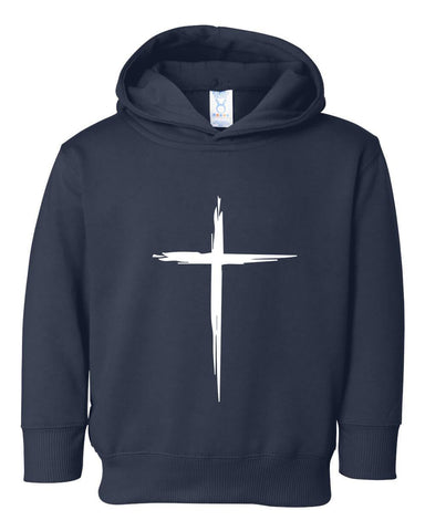 Image of Sweatshirts - Cross Toddler Christian Sweatshirt Hoodie