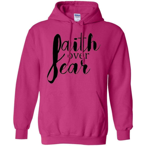 Image of Sweatshirts - Faith Over Fear Christian Sweatshirt Hoodie
