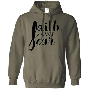Faith Over Fear Christian Sweatshirt Hoodie
