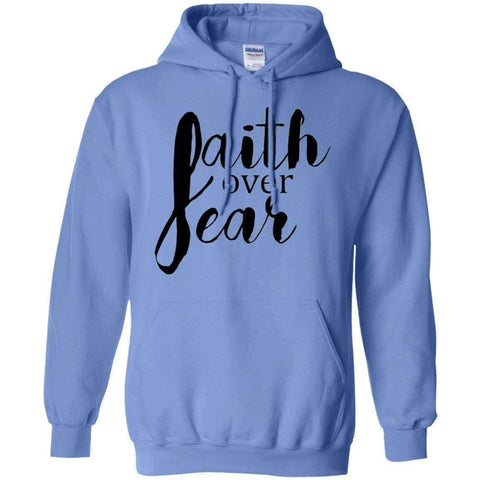 Sweatshirts - Faith Over Fear Christian Sweatshirt Hoodie