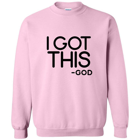 Image of Sweatshirts - I Got This Christian Crewneck Unisex Sweatshirt