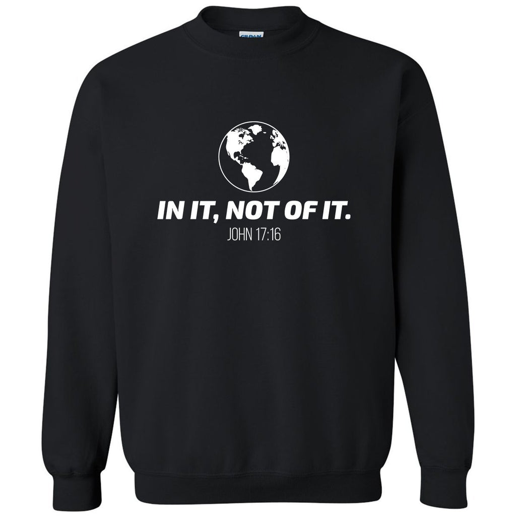 Sweatshirts - In It, Not Of It Christian Crewneck Unisex Sweatshirt