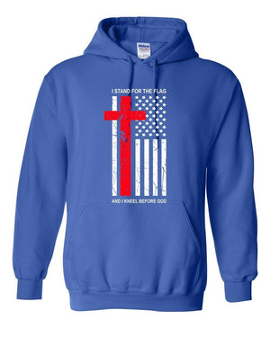 Kneel Before God Christian Sweatshirt Hoodie