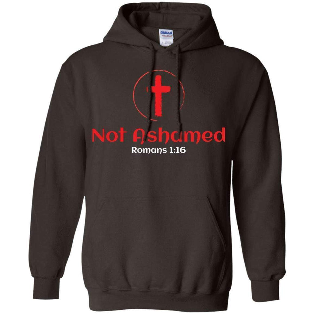 Sweatshirts - Not Ashamed Christian Sweatshirt Hoodie
