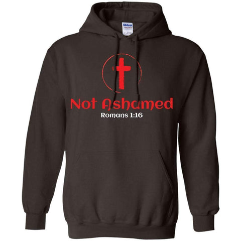 Image of Sweatshirts - Not Ashamed Christian Sweatshirt Hoodie