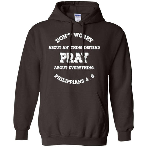 Image of Sweatshirts - Pray, Don't Worry Christian Sweatshirt Hoodie
