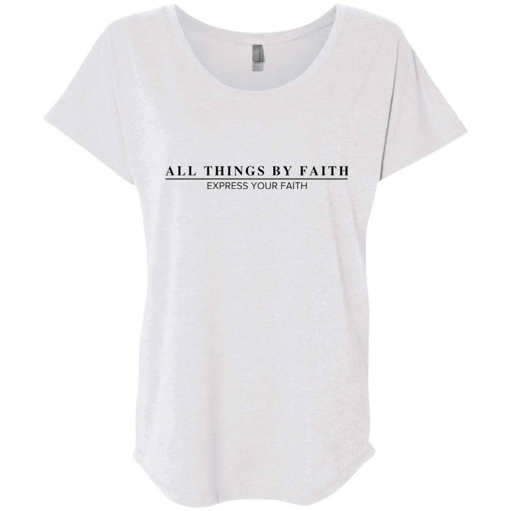 T-Shirts - All Things By Faith Christian Dolman T-Shirt