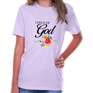95b80769 T-Shirts - Child Of God Youth Jersey Short Sleeve Christian T Shirt ...
