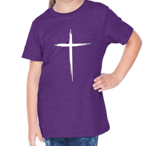 Image of T-Shirts - Cross Toddler Christian Short Sleeve T Shirt