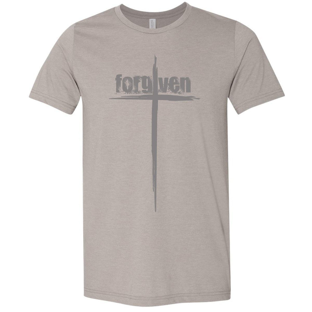 T-Shirts - Forgiven Cross Christian Jersey T-Shirt