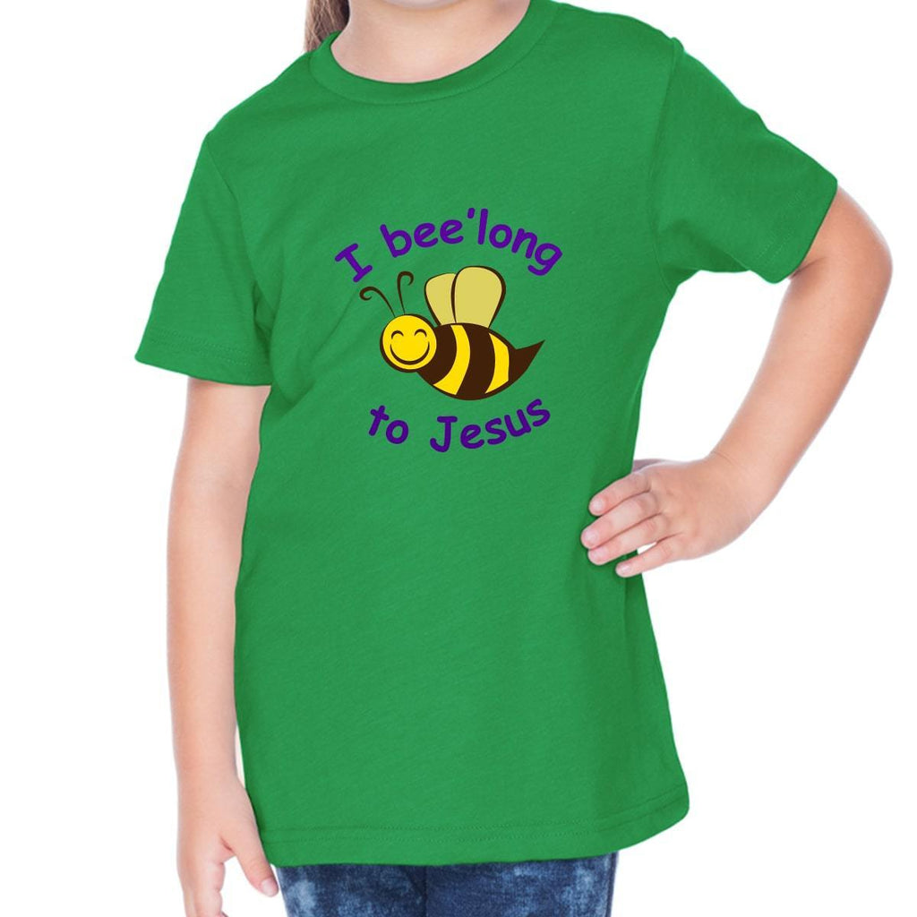 T-Shirts - I Belong To Jesus Toddler Christian Short Sleeve T Shirt
