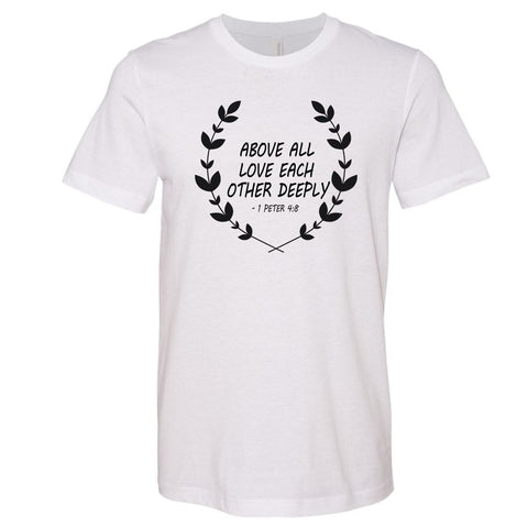 Image of T-Shirts - Love Each Other Christian Jersey T-Shirt