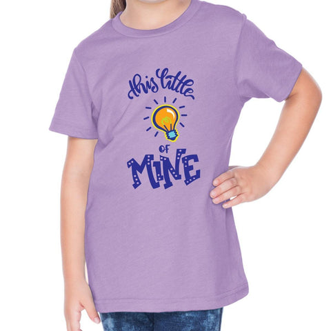 T-Shirts - This Little Light Of Mine Toddler Christian Short Sleeve T Shirt