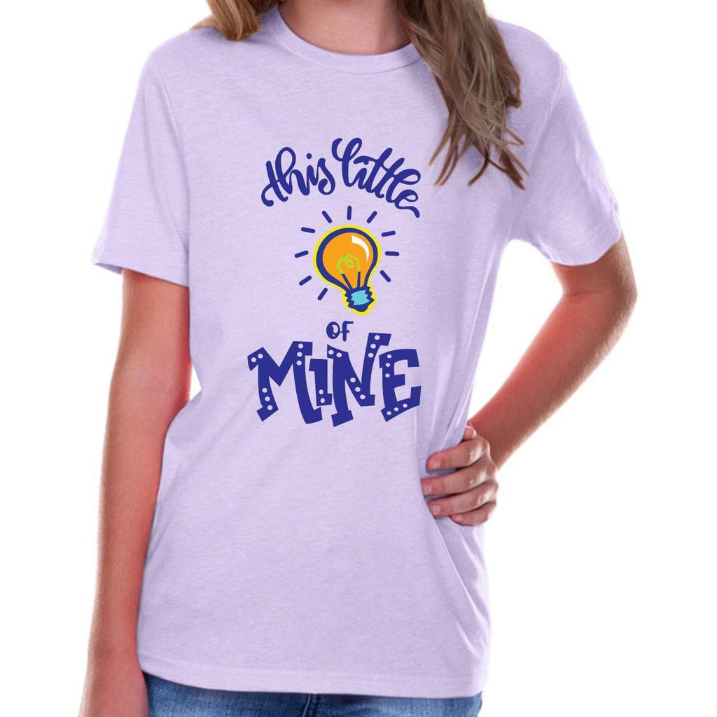 T-Shirts - This Little Light Of Mine Youth Jersey Short Sleeve Christian T Shirt