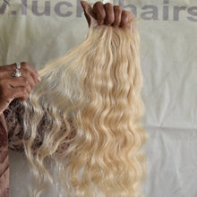 "Blonde Wavy 08"" inch 1 Bundle"