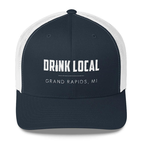 drink local grand rapids hat