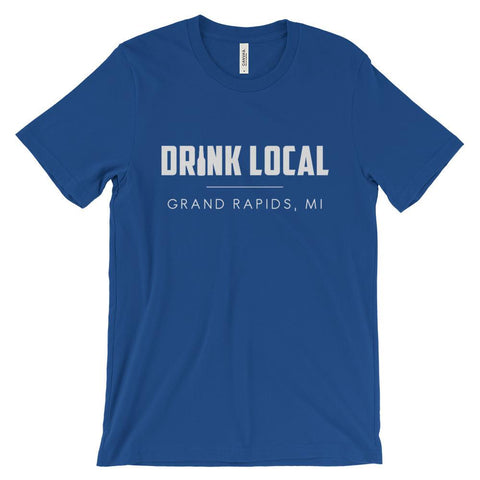 drink local grand rapids t-shirt