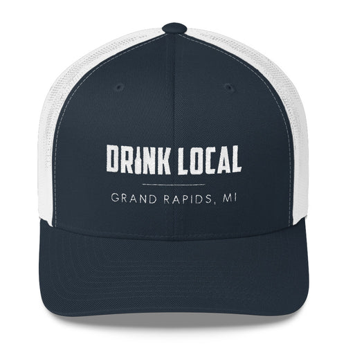 Grand Rapids, MI Drink Local Trucker Cap