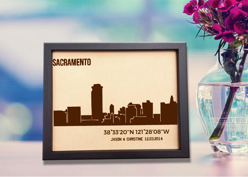 lik389 leather engraved wedding third anniversary sacramento californi stickersforlife stickersforlife