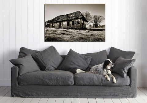 canik101 Canvas Print Stretched Wrapped abandoned house 26x43""