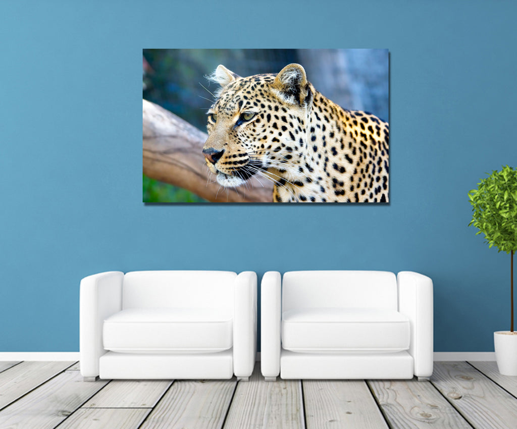 canik106 Canvas Print Stretched Wrapped leopard africa big cat animal 26x448""