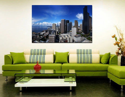 canik160 Canvas Print Stretched america seattle city 26x43""