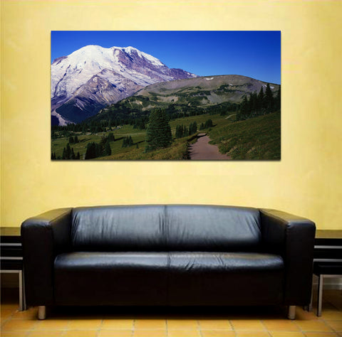 canik168 Canvas Print Stretched landscape mountain road 26x48""