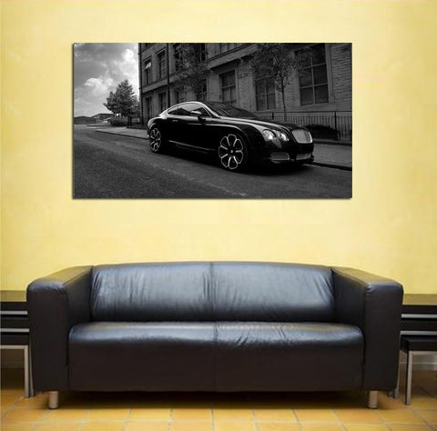 canik19 Canvas Print Stretched Wrapped Luxury car super car sport auto 26x48""