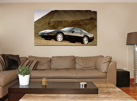 canik25 Canvas Print Stretched Wrapped Luxury hot rod American sport car 26x48""