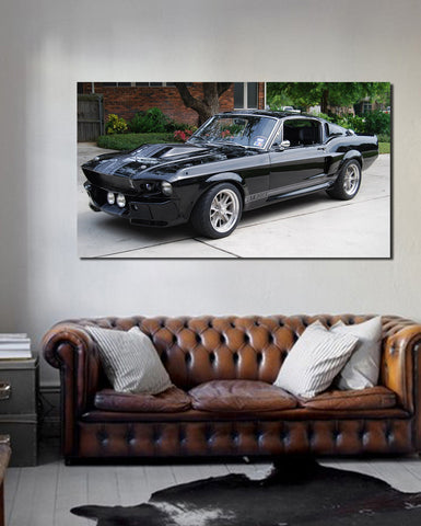 canik28 Canvas Print Stretched Wrapped Luxury hot rod American sport car 26x48""