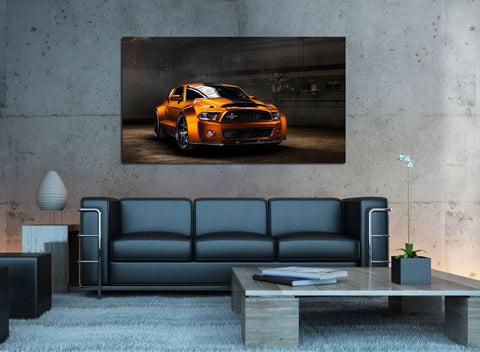 canik31 Canvas Print Stretched Wrapped Luxury hot rod American sport car 26x48""