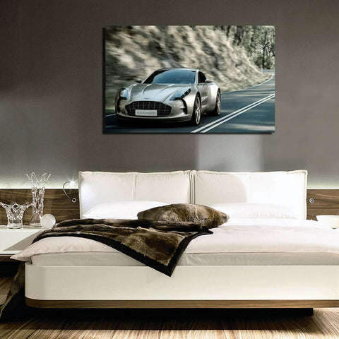 canik61 Canvas Print Stretched Wrapped English sports car 26x42""