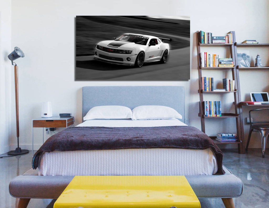 canik63 Canvas Print Stretched Wrapped American sports car 26x48""