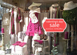 cik1015 Full Color Wall decal sale price Valentine's Day shop window Showcases
