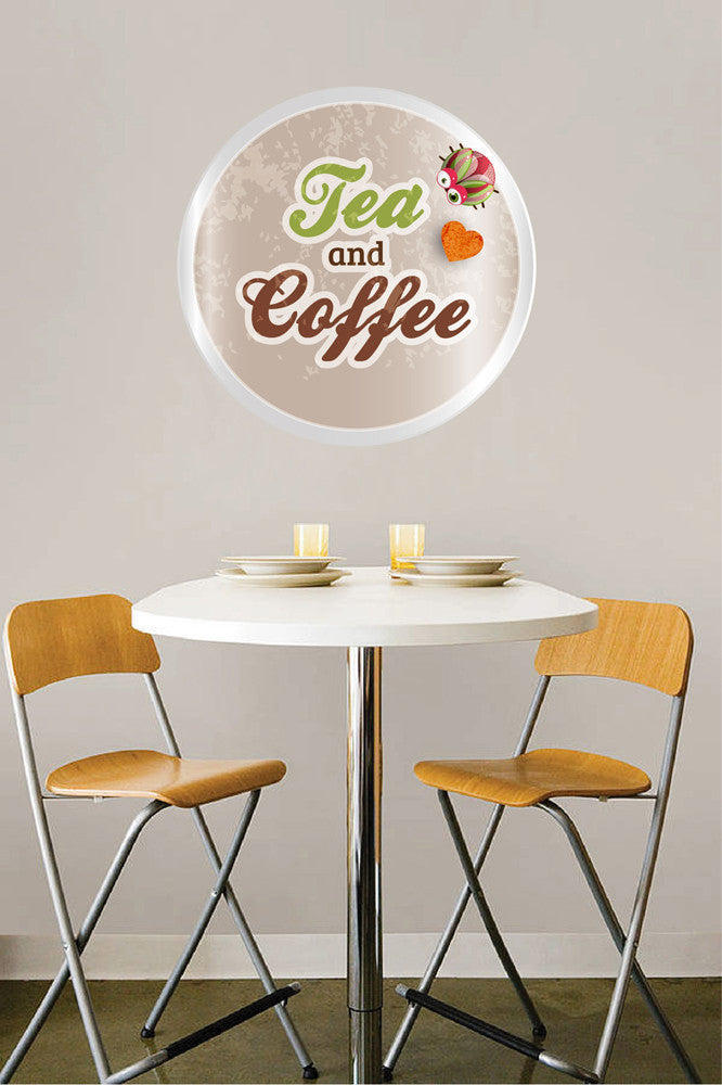 cik1071 Full Color Wall decal drink tea coffee coffeehouse cafe window Showcases