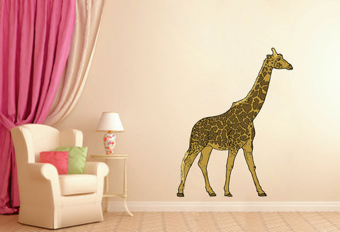 cik150 Full Color Wall decal giraffe animal africa children's room