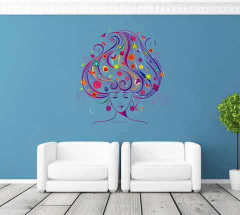 cik257 Full Color Wall decal music speaker microphone bedroom living room