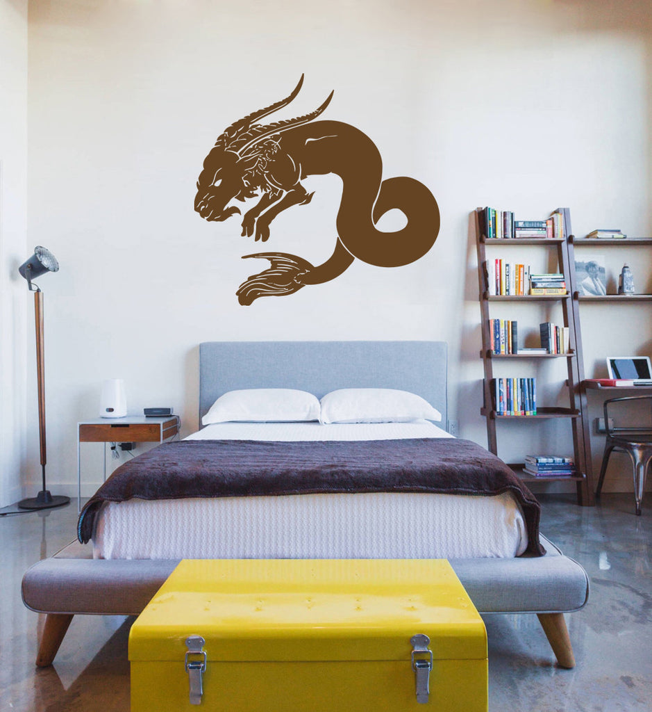 ik1087 Wall Decal Sticker Capricorn zodiac sign bedroom