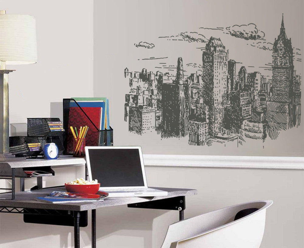 ik1156 Wall Decal Sticker new york city american bedroom children