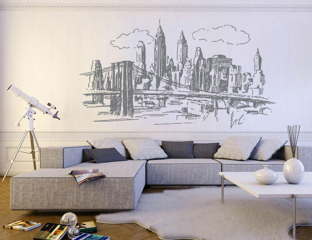 ik1161 Wall Decal Sticker new york city american bedroom children