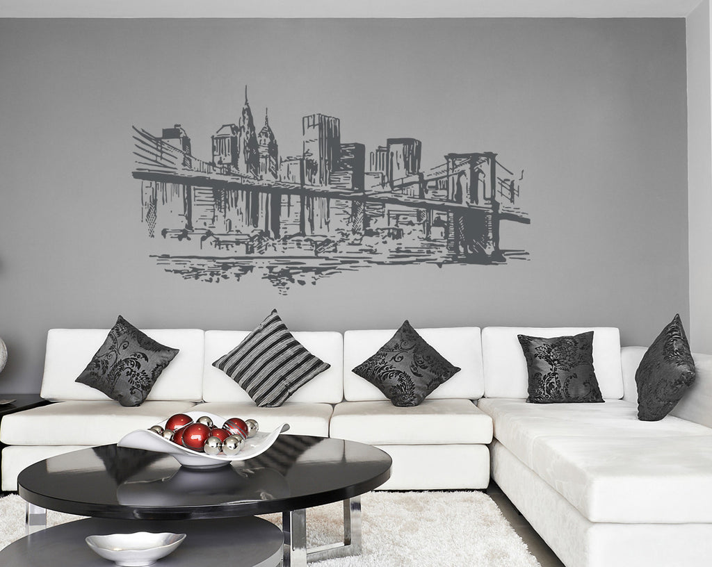 ik1163 Wall Decal Sticker new york city american bedroom children