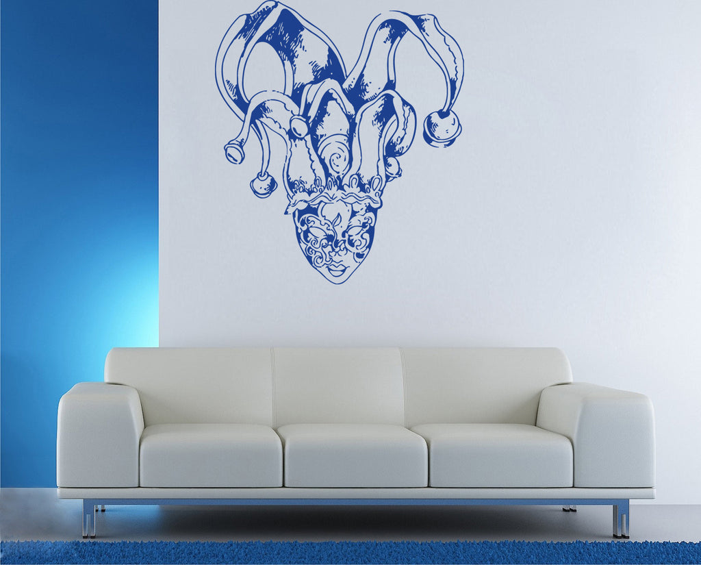 ik1187 Wall Decal Sticker Venetian mask Venice Carnival bedroom