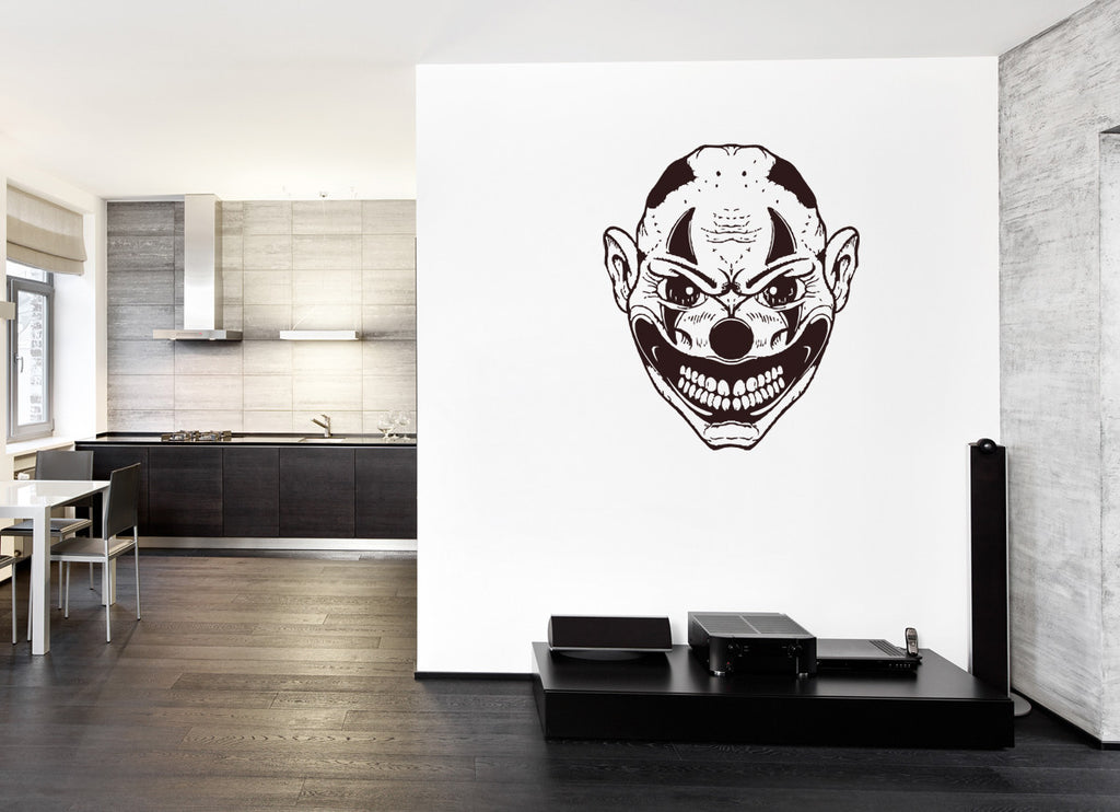 ik1306 Wall Decal Sticker joker clown jester bedroom